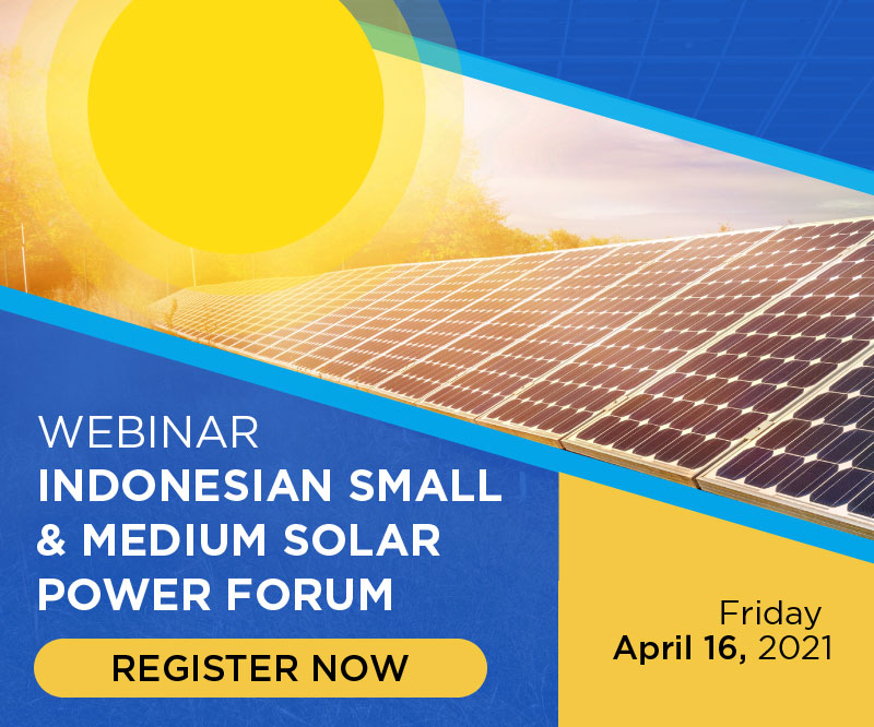 INDONESIAN SMALL & MEDIUM SOLAR POWER FORUM