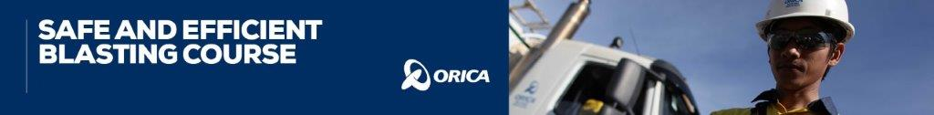 ORICA SAFE AND EFFICIENT BLASTING
